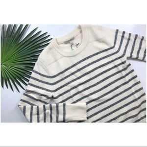 [41 Hawthorn] Striped Cozy Sweater